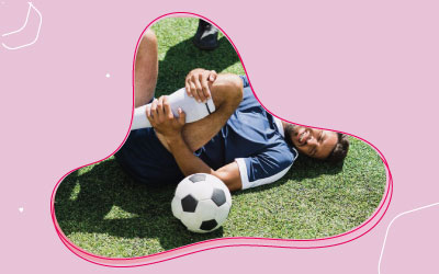 Lesões esportivas no futebol brasileiro: o que dizem os estudos.